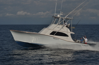 Dragin Fly, 42' Maverick, Sport Fishing Boat in Los Sue�os Marina, Costa Rica